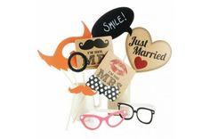 Accessoires photobooth Les mariés