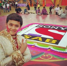 Baalveer (Dev Joshi) in Sony SAB. Happy holi!