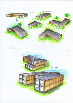 Container House - Container House - Construction dun orphelinat - Who Else Wants Simple Step-By-Step Plans To Design And Build A Container Home From Scratch? - Who Else Wants Simple Step-By-Step Plans To Design And Build A Container Home From Scratch? Building A Container Home, Container Buildings, Container Architecture, Container House Plans, Prefab Homes, Modular Homes, Plans Architecture, Architecture Design, Recycling Containers