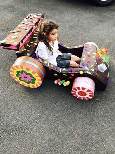 Box car  Candy kart