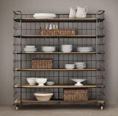 antique baker furniture sideboard powell hamilton rack