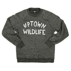 ONLY NY | STORE | Sweatshirts | Uptown Wildlife Crewneck ($50-100) - Svpply