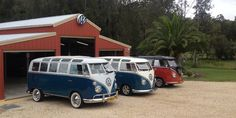 It's a car collection unlike any other - and surely the envy of even the most avid Volkswagen fanatics