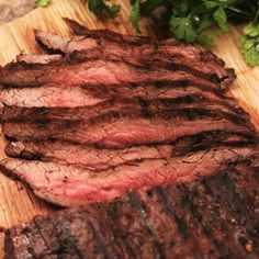 Marinated and Grilled Flank Steak. Marinated and Grilled Flank Steak Recipes Cuisine : American, Recipe Yields : 4 people Prep time : 10 minutes Cook time : 10 minutes Keywords : Grilled Flank Steak, . Flank Steak Tacos, Marinated Flank Steak, Flank Steak Recipes, Pellet Grill Recipes, Grilling Recipes, Beef Recipes, Cooking Recipes, Smoker Recipes, Different Steaks
