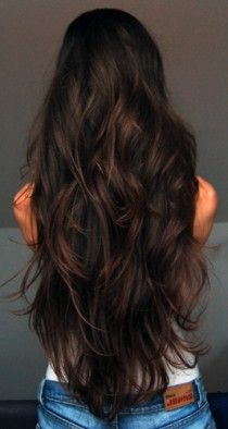 Gorgeous! Would love to have it this long. Layers are a must, though! @cebut