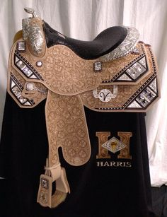 Harris show Saddle I can't imagine putting this on my horse!