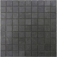 Mozaïek tegel Cerabeton Anthracite 30,2 x 30,2cm per 0,09m²