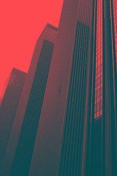 Palette Pastel, New Retro Wave, Poster Design, Foto Art, City Aesthetic, Grafik Design, Graphic Design Inspiration, Architecture, Pixel Art