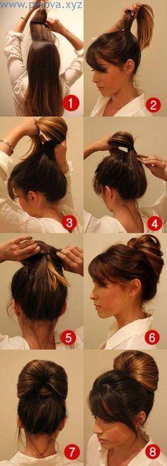 Einfache Tutorials, um Ihr Haar richtig zu stylen #hairstyles