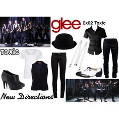 New Directions (Glee) : Toxic by aure26 on Polyvore featuring polyvore, fashion, style, Passport, The Department, Yves Saint Laurent, H