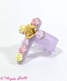 Milky Cross Ring in Lavender (2015)