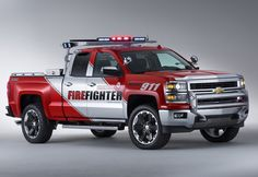 Chevrolet Unveils Firefighter & Black Ops Concepts Based On The 2014 Chevy Silverado Gm Trucks, Cool Trucks, Chevy Trucks, Fire Trucks, Pickup Trucks, Muddy Trucks, Lifted Trucks, Chevrolet Silverado, Chevrolet Tahoe