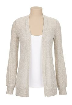 Open Front Shimmer Cardiwrap (original price, $29) available at #Maurices