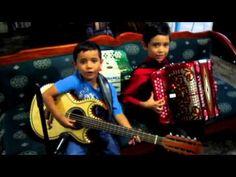 Chuyito Bañales y Manuelito Bañales TE VAS ANGEL MIO acordeon y bajosexto - YouTube