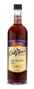SUGAR FREE KAHULA SYRUP: Classic flavor of the coffee liquer, Kahlua.  Sugar Free sweetened with SPLENDA® Brand Sweetener. #davinci #gourmet #kerry #foodservice