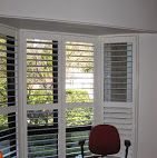 Bay Window Plantation Window Shutters