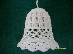 S7300728 Crochet Tablecloth, Crochet Christmas, Christmas Bells, Tablecloths, Ornaments, Jewlery, Table Toppers, Crochet Christmas Cozy, Table Top Covers
