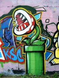 Afbeeldingsresultaat voor graffiti plant
