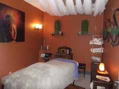 Release your stress in our massage and treatment room