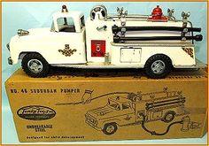 Tonka Fire Truck, Fire Trucks, Vintage Trucks, Vintage Toys, Tonka Toys, Matchbox Cars, Metal Toys, Toy Trucks, Toys Shop
