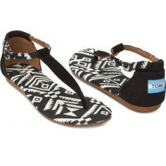 2014 Toms Women's Playa Sandal Woven Black