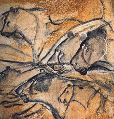 20 Most Fascinating Prehistoric Cave Paintings (cave paintings lascaux cave paintings altamira cave paintings) - ODDEE Lascaux Cave Paintings, Chauvet Cave, Old Paintings, Fresco, Paleolithic Art, Prehistoric Age, Cave Drawings, Fu Dog, Lion Painting