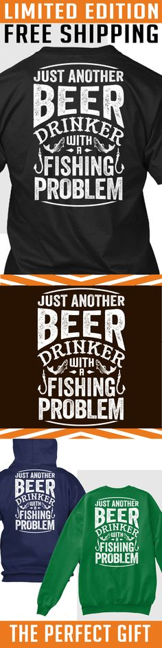 Beer and Fishing - Limited Edition. Only 2 days left for free shipping, get it now!