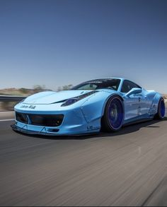 Ferrari 458 Liberty Walk