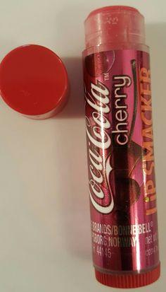 "Lip Smacked in ""Coca Cola Cherry"", New."