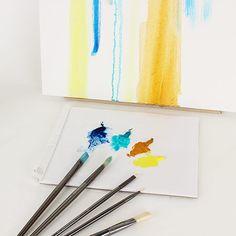 Birch tree oil painting / Forêt de bouleaux à la peinture à l'huile | DeSerres