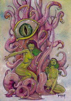 Vision Wyrm by Dubisch.deviantart.com on @DeviantArt