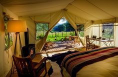 The 7 Best Glamping Spots for Fall | Allure