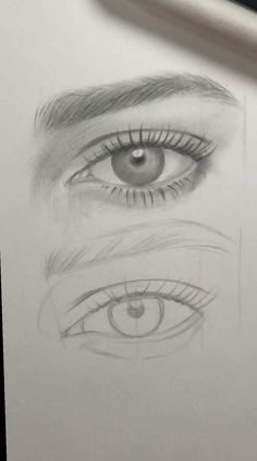 drawing eyes step by step realistic ~ drawing eyes ; drawing eyes step by step ; drawing eyes step by step easy ; drawing eyes step by step realistic Easy Pencil Drawings, Dark Art Drawings, Art Drawings Sketches Simple, Realistic Drawings, Indie Drawings, Sketches Of Eyes, Drawings Of Hair, Drawings Of Birds, How To Draw Realistic