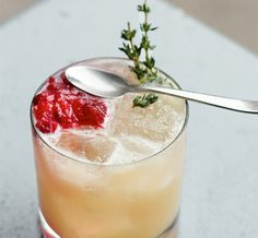 The Perfect Cranberry Sour Cocktail for Fall | SELF