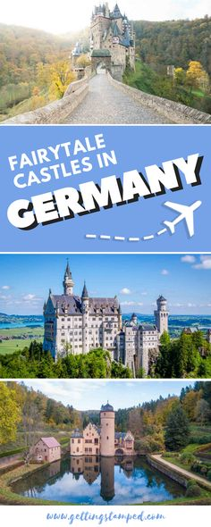 10 castles in Germany you can't miss. Travel to the countryside to witness history and the German culture right in front of your eyes. Visit Eltz Castle in the German woods or the Neuschwanstein…More Backpacking Europe, Europe Travel Tips, Places To Travel, Travel Things, Travel Advice, Travel Guides, Travel Destinations, Visit Germany, Germany Travel