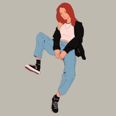 Sam's Sketchies | girl