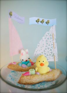 bunny boats puff pastry
