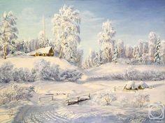 Янов Виктор. Русская зима