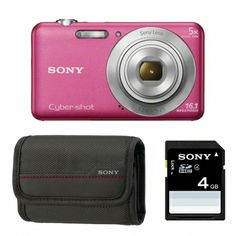 Sony DSC-W710 roz - aparat foto + Card 4GB + Geanta LCSBDG Sony, Compact, Charger, Cards, Maps, Playing Cards