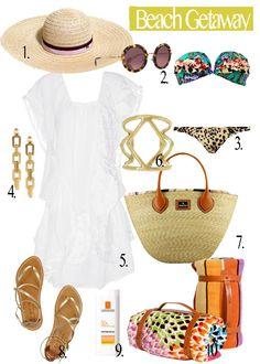 Beach Getaway  http://fashionmemoires.com