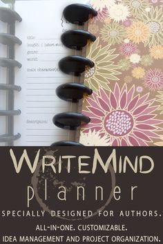 Planner designed specially for authors!