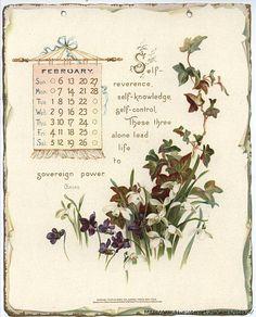 Календарь на 1898 год.. Обсуждение на LiveInternet - Российский Сервис Онлайн-Дневников