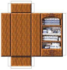 Casa de bonecas! Escolha seus móveis preferidos, imprima em papel firme, recorte e monte! - ESPAÇO EDUCAR Paper Doll House, Doll House Crafts, Paper Houses, Paper Furniture, Doll Furniture, Dollhouse Furniture, Diy Dollhouse, Dollhouse Miniatures, Diy Paper