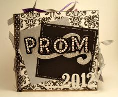 Prom 2012 Paper Bag Scrapbook Album by brightideasbylorrie on Etsy,