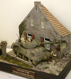 Here are the best of the Military Vignettes at the world leading modelling show held every year in England – the world famous Euro Milita...