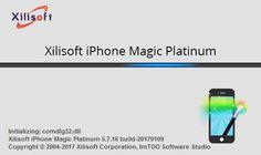 تحميل برنامج لادارة مبايلك Xilisoft iPhone Magic Platinum 5.7.16 Build 20170109  Crack