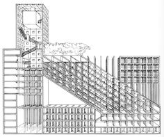Franco Purini, Proposal for A Danteum, Rome, Italy, 1985