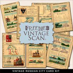 Freebies Vintage Papers Kit