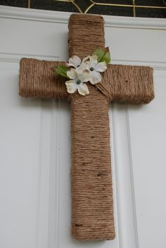 Natural Cross Wall/Door Hanger