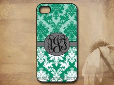 Monogrammed iPhone cover Personalized iPhone by SmartPhoneCovers, $13.99